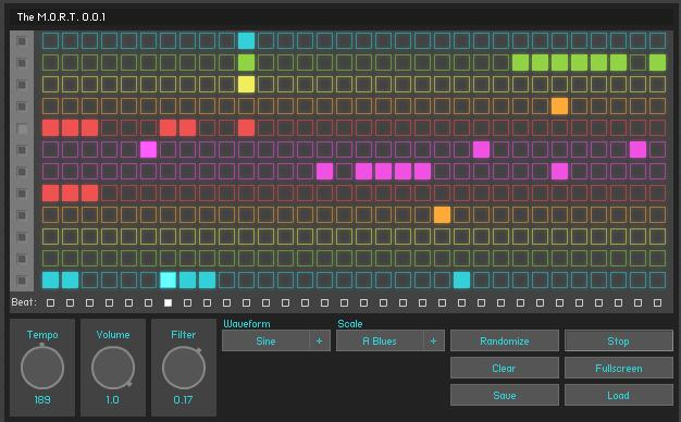 the m o r t online step sequencer this site has moved to www